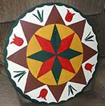 Pennsylvania Dutch hex sign features on Ross Svebeck show KMSP-TV Minneapolis, MN