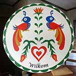 Wilkom Pennsylvania Dutch hex sign