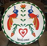Welcome Pennsylvania Dutch Hex Sign